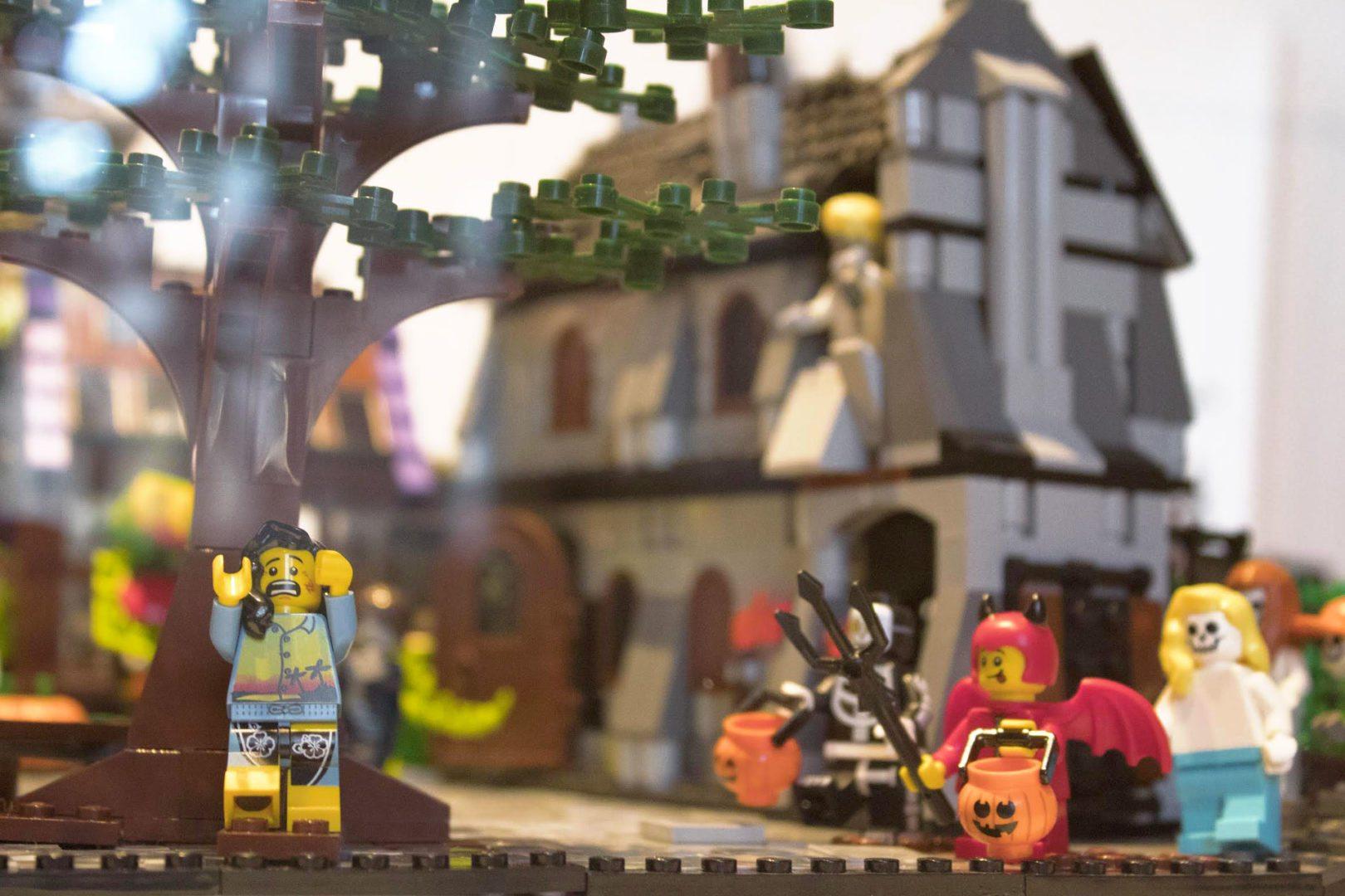 foto di mattoncini Lego