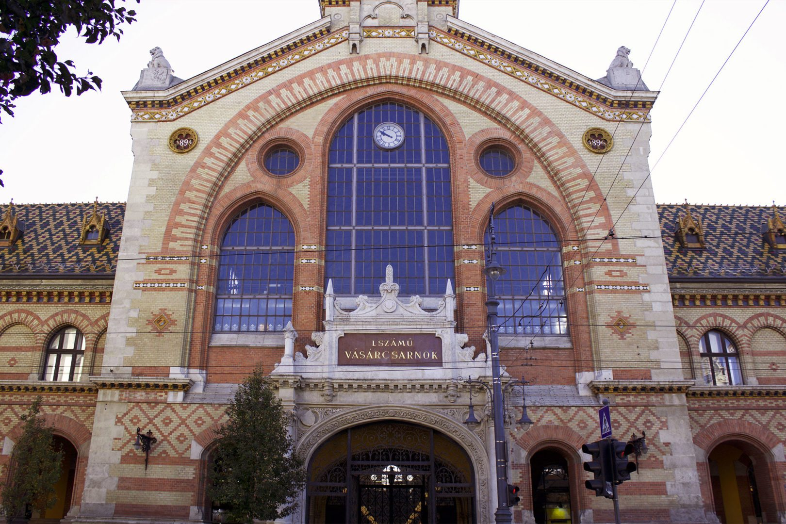 Foto del Mercato Coperto di Budapest