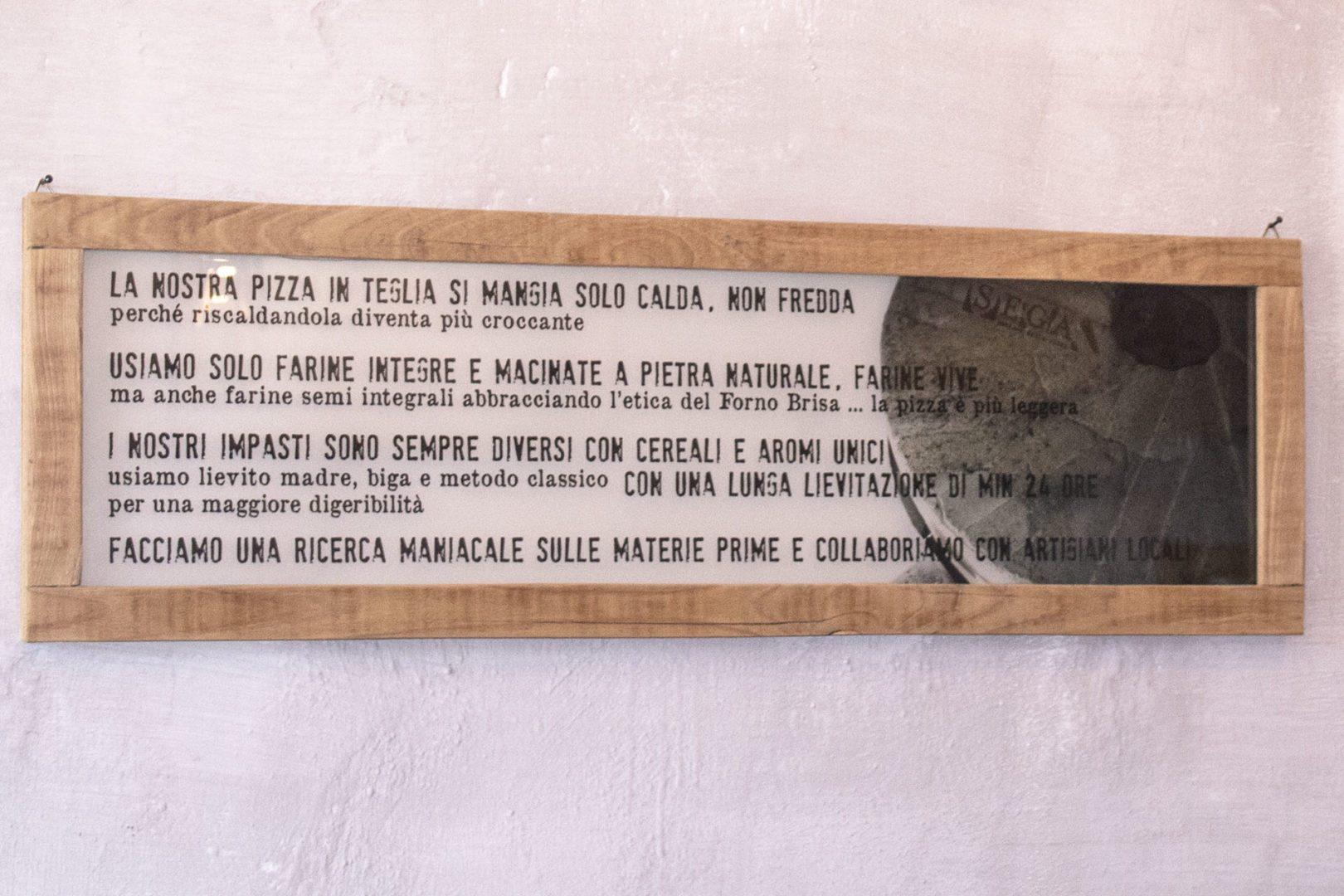 bologna: sega pizzeria interno