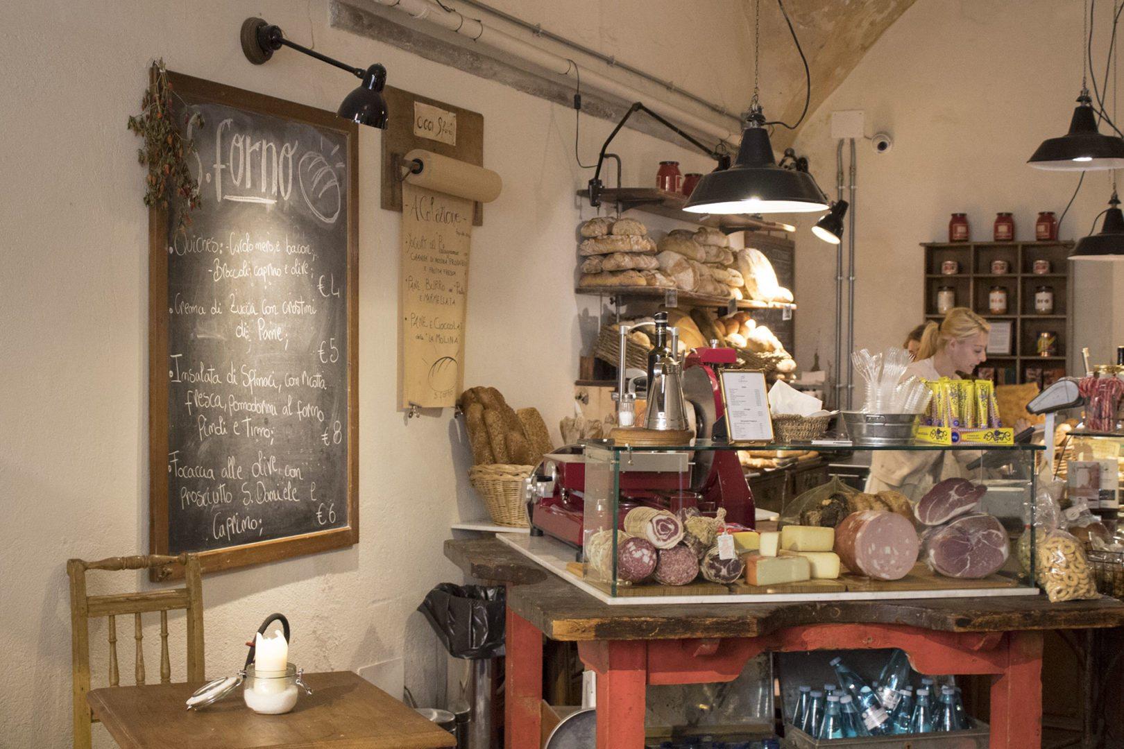 Firenze Santo Spirito: colazione al panificio storico