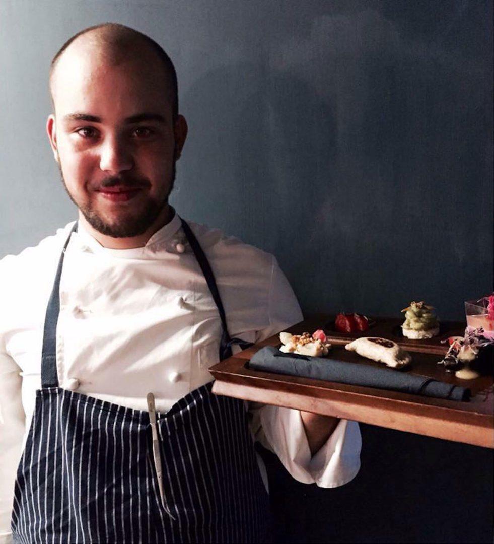 Jacopo Ticchi degustazione di cucina vegetariana