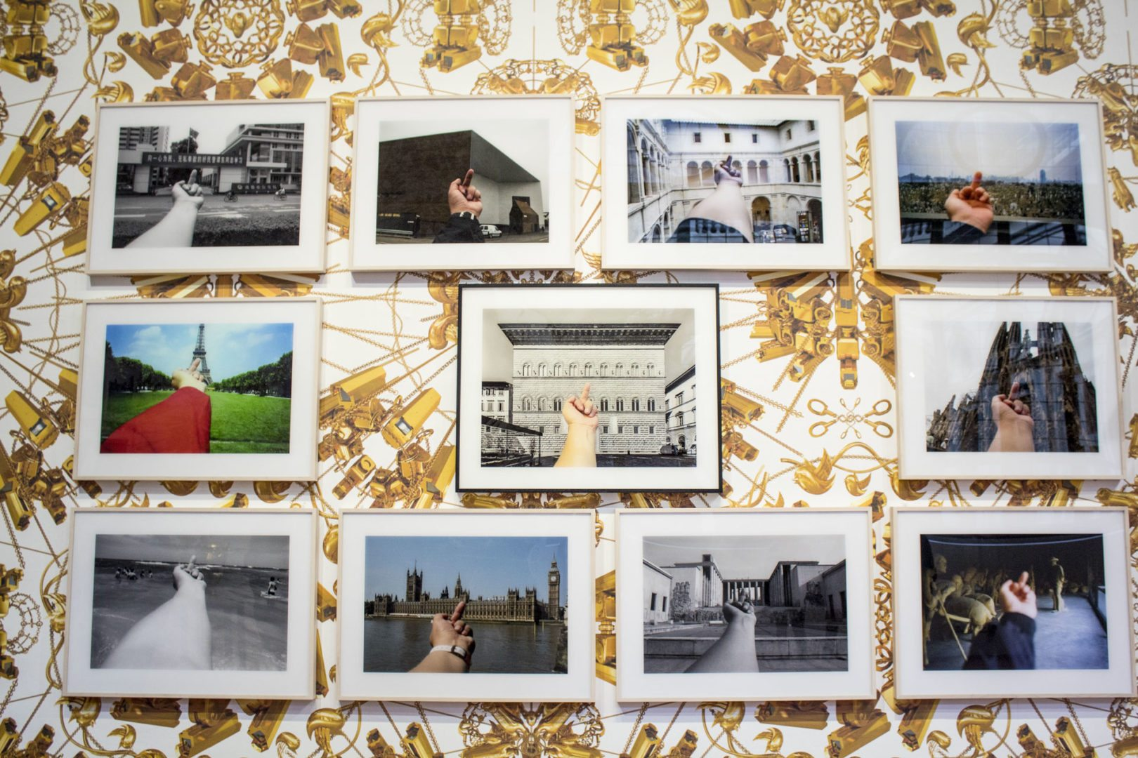opera di ai wei wei esposta a Firenze