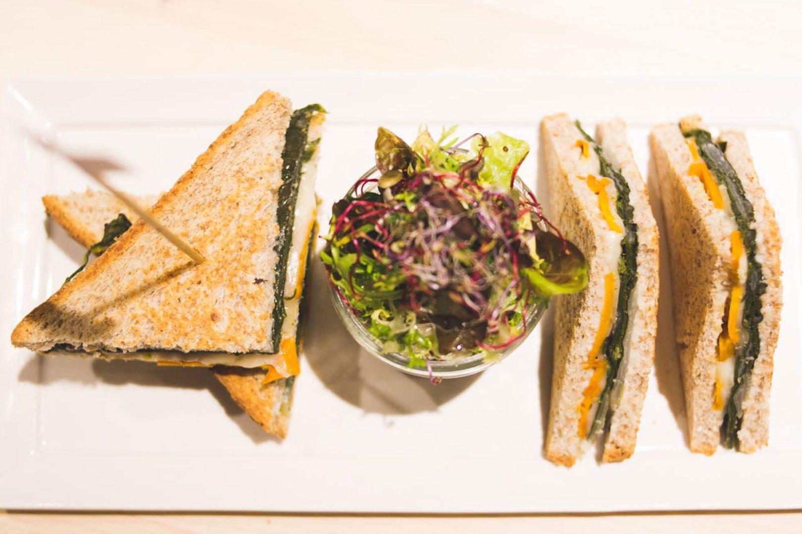 Foto di un panino preparato da Pier Giorgio Parini