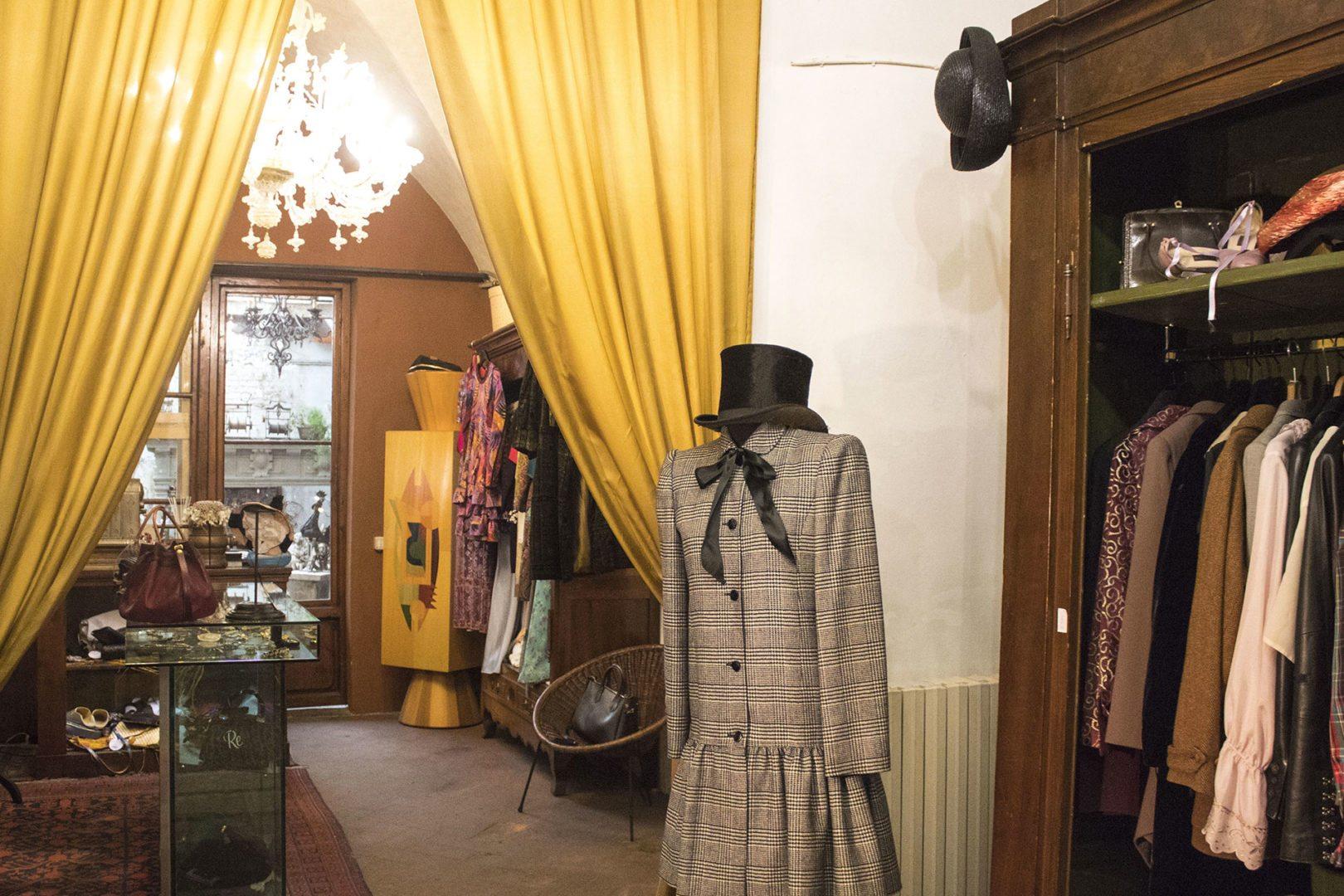vintage shop a Firenze San Frediano