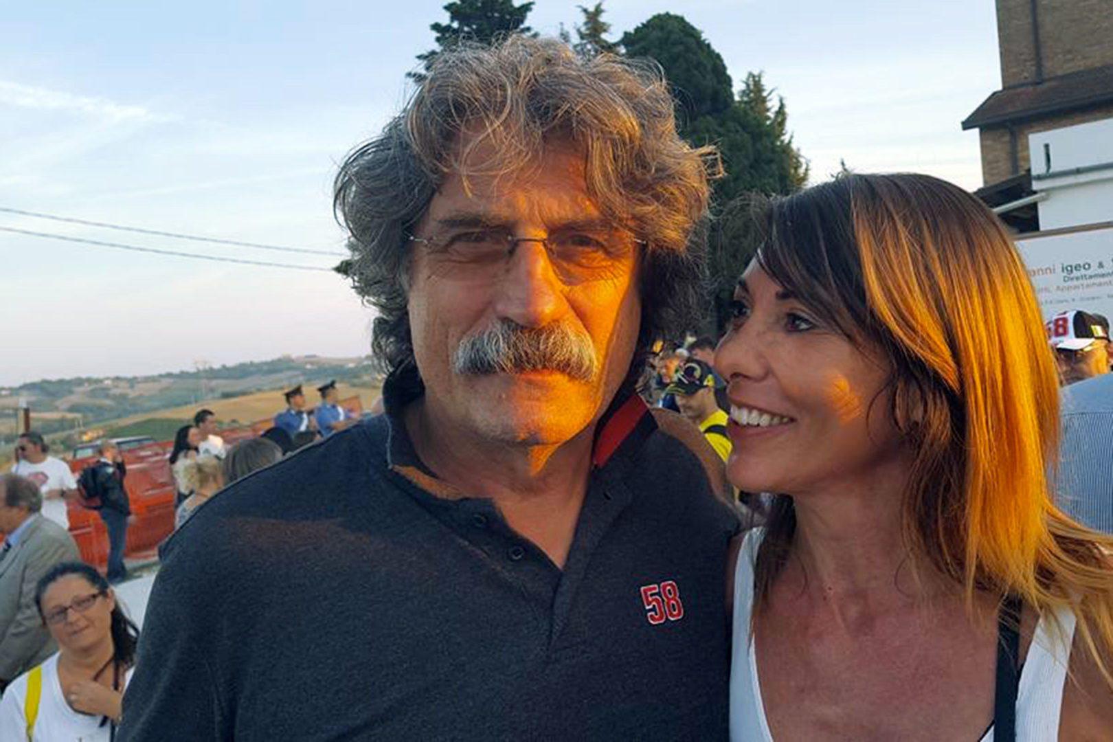 Compleanno Simoncelli, la fidanzata: