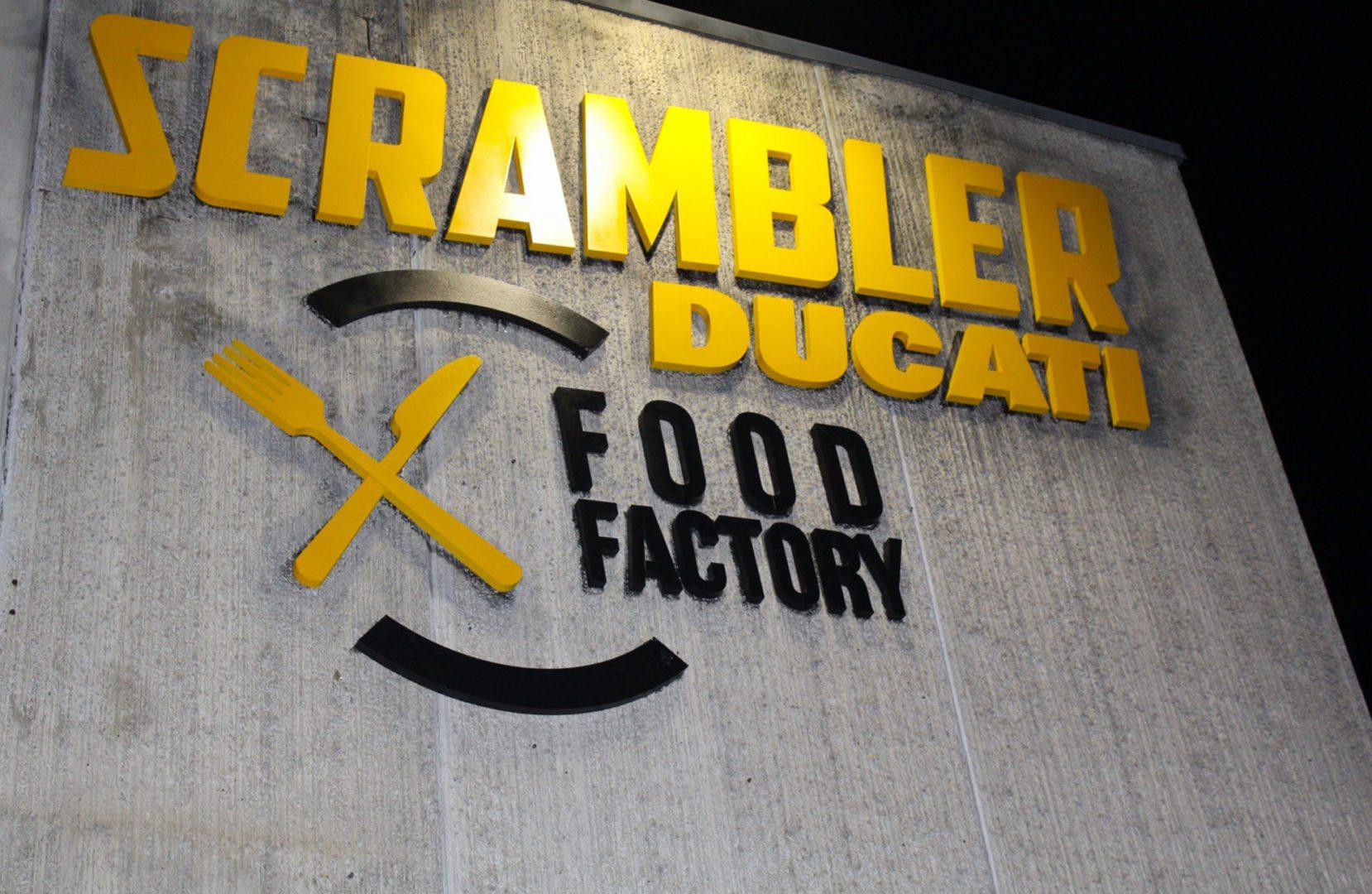 Bologna Scrambler Food Factory:esterno