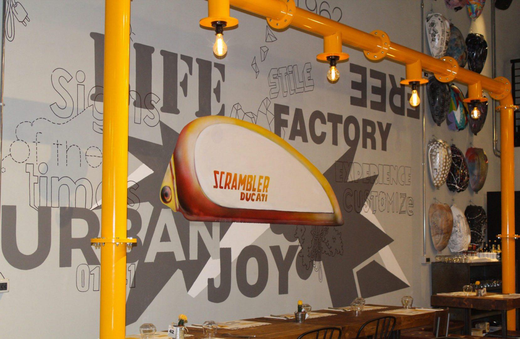 Scrambler Food Factory, Un Viaggio In Sella Per Il Mondo