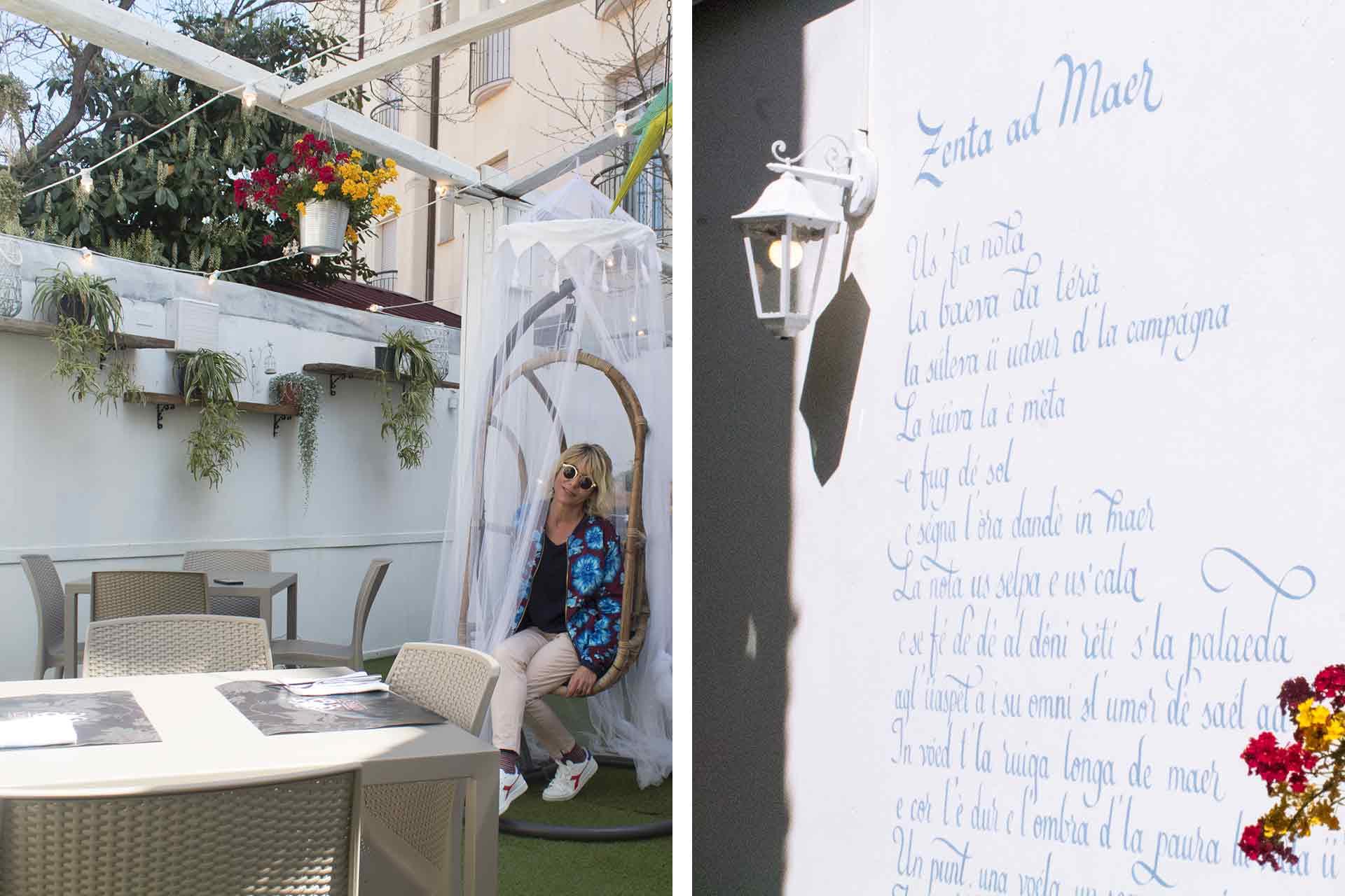bellaria, esterno ristorante libeccio
