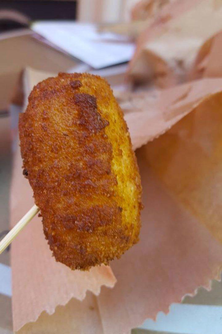 street food sicilia polpettine di pesce