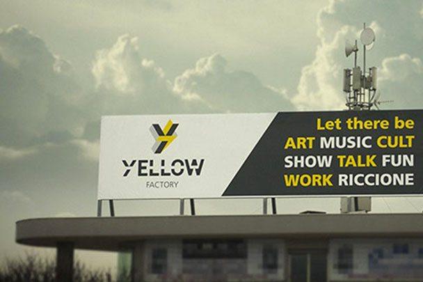 yellow factory esterno