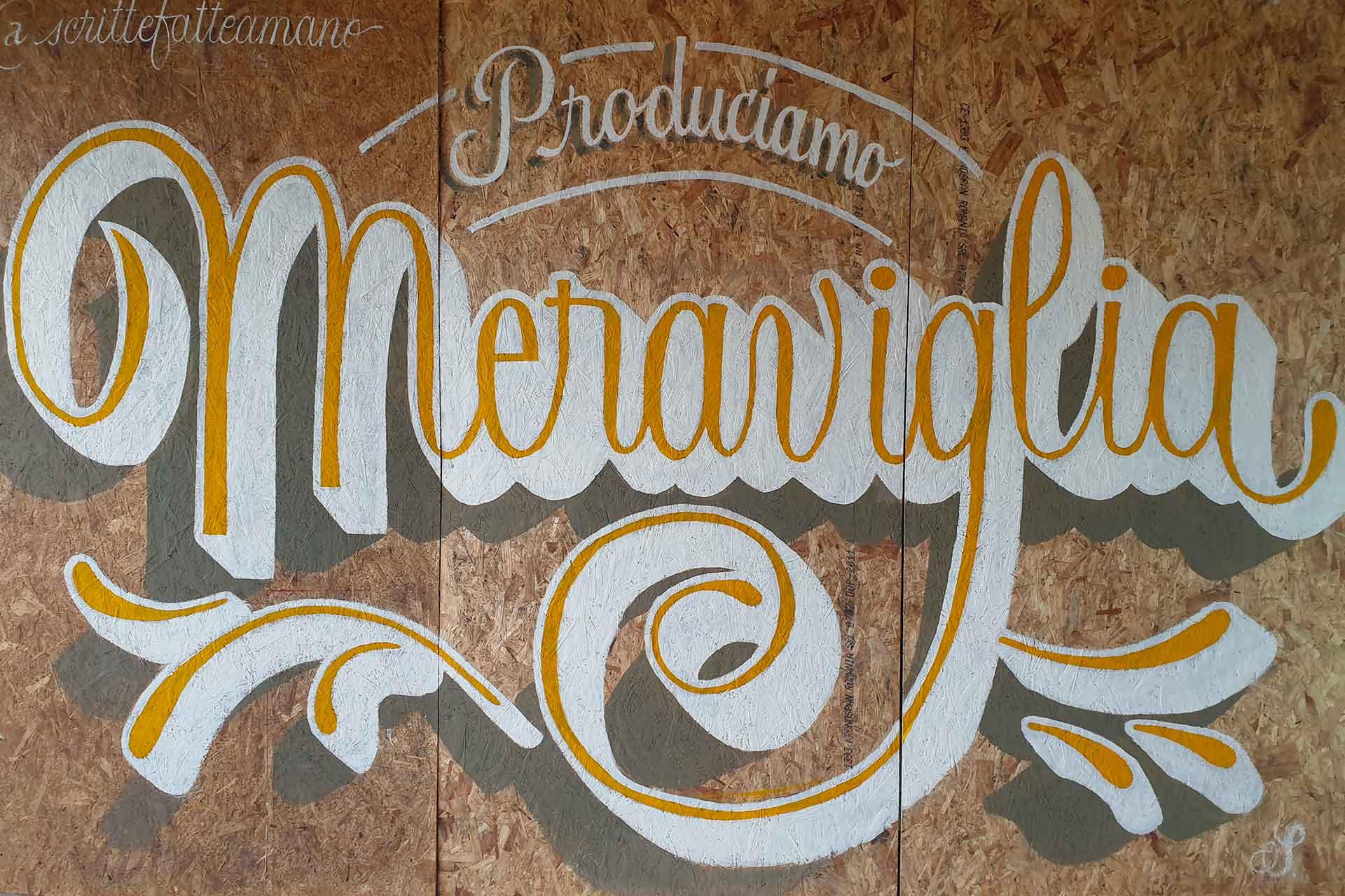 Simone Cannolicchio E Il Suo Viaggio Nostalgico Nel Sign Painting