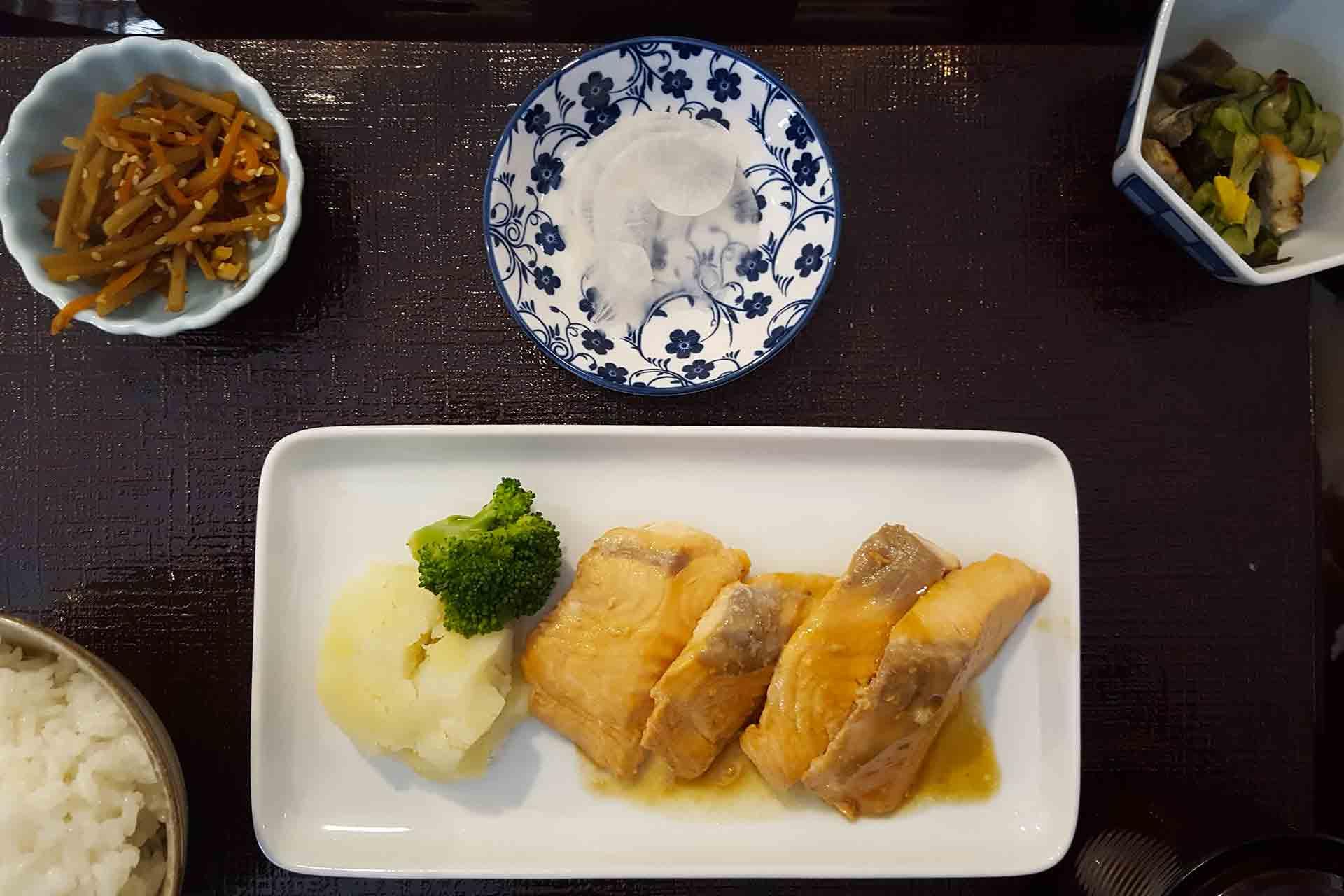 cucina giapponese toishoku