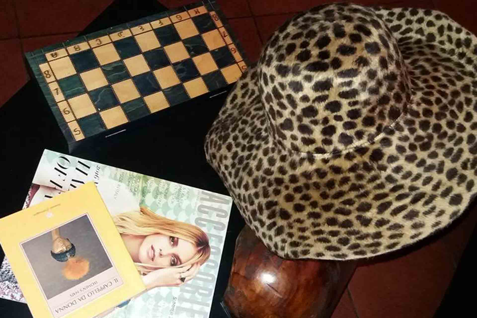 cappelli artigianali maculati