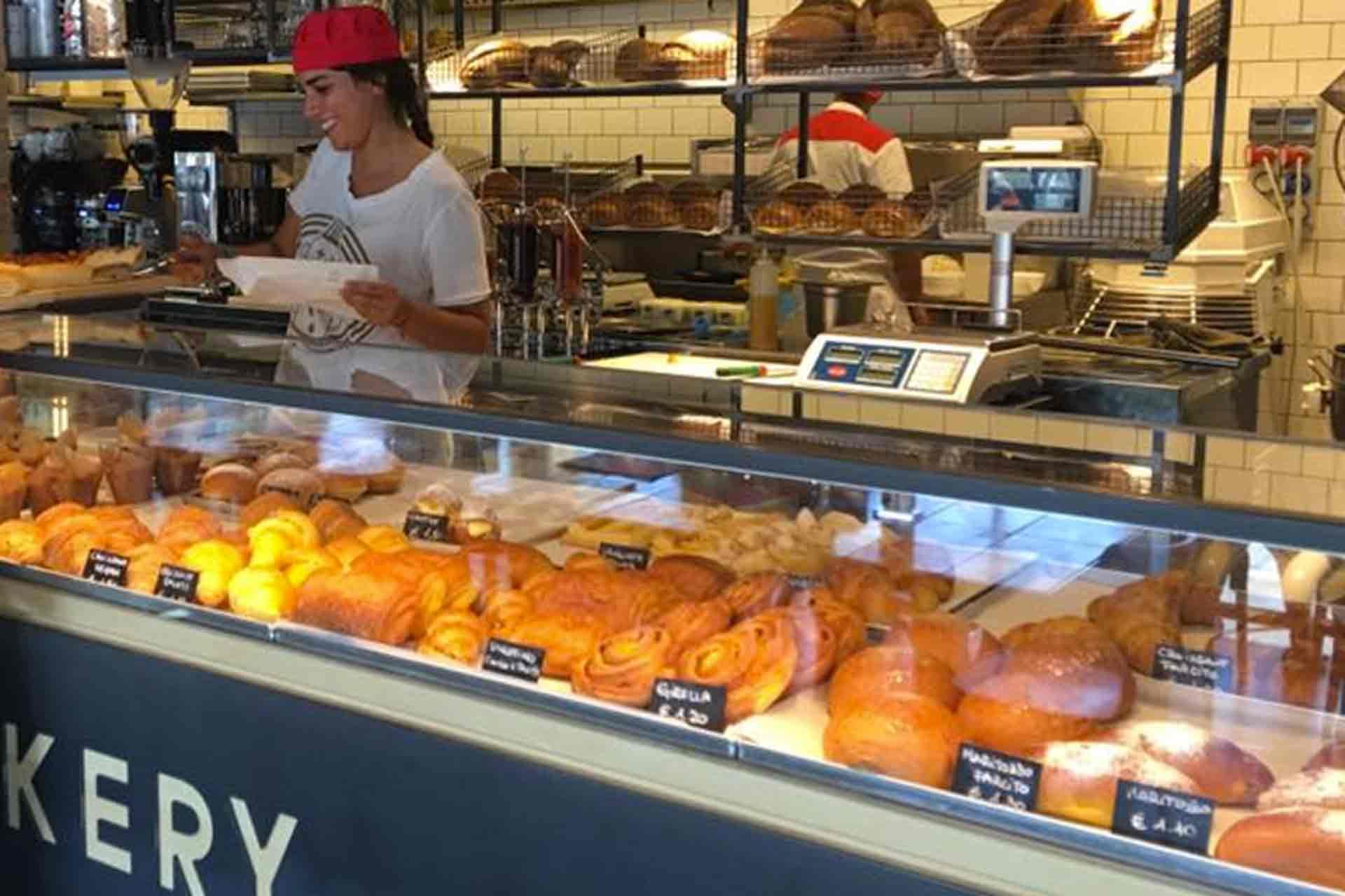 panificio in stile bakery