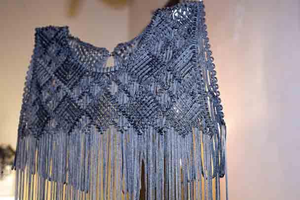 moda abito ricamato