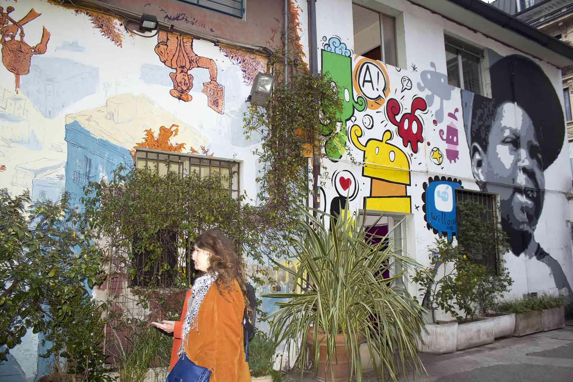 A Milano Isola Tra Vintage, Street Art E Tatoo