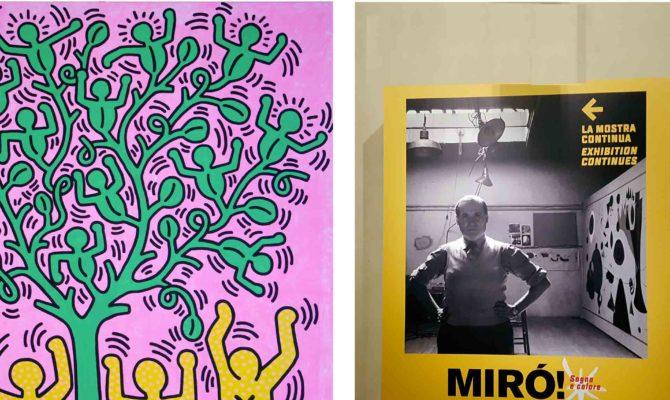 Keith Haring E Miro Mostre Arte