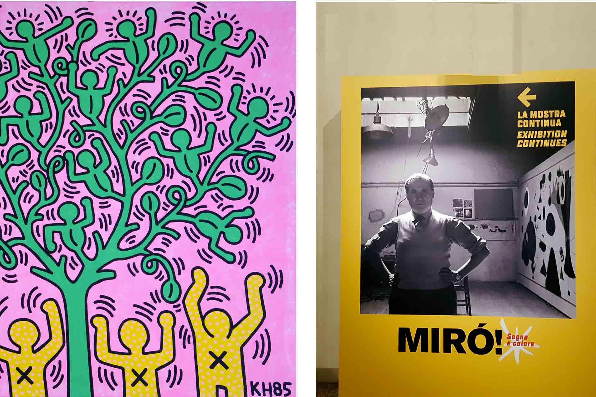 Arte vi racconto i segreti di haring e mir my trolley blog for Mostre d arte in corso
