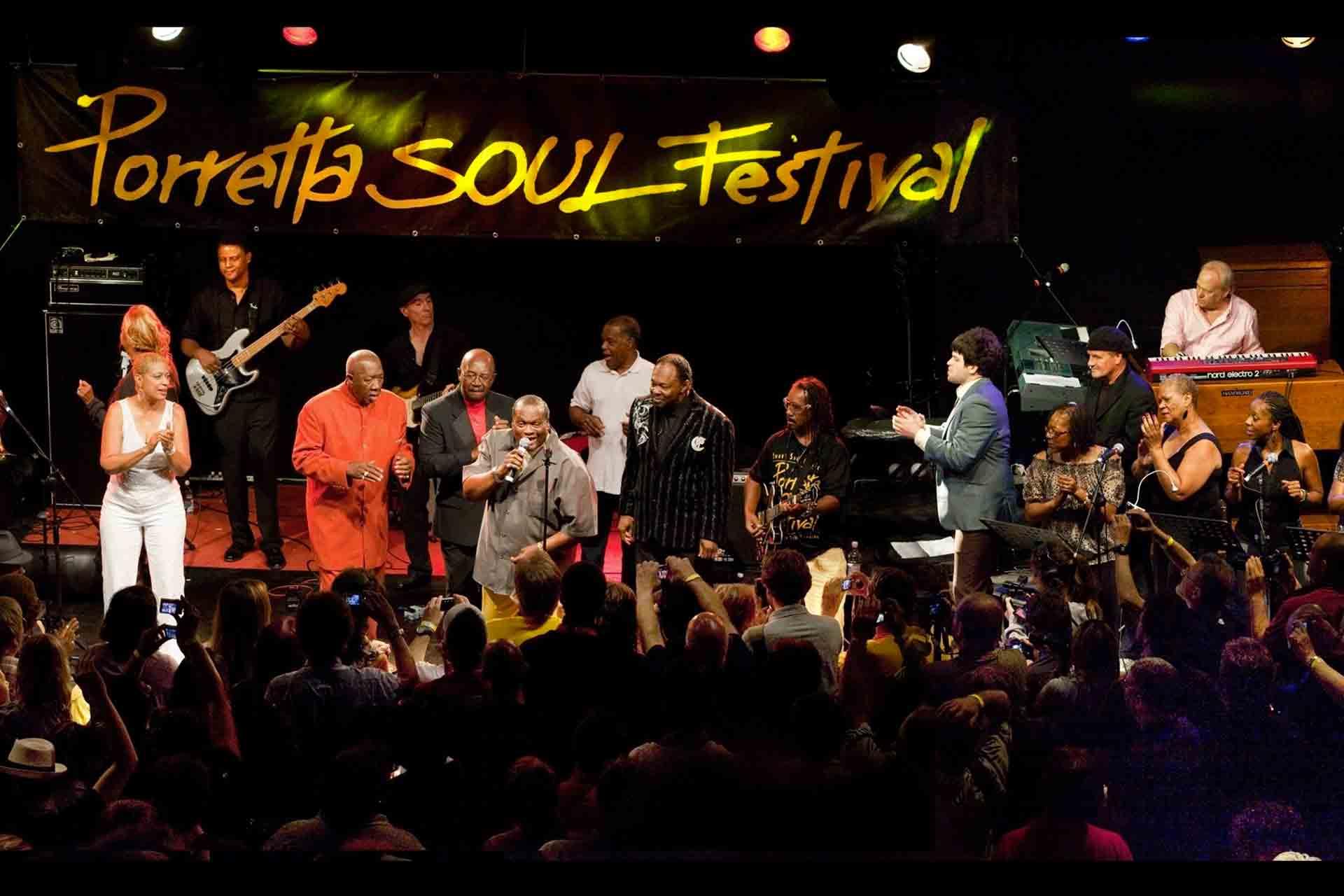 in treno al Porretta Soul Festival