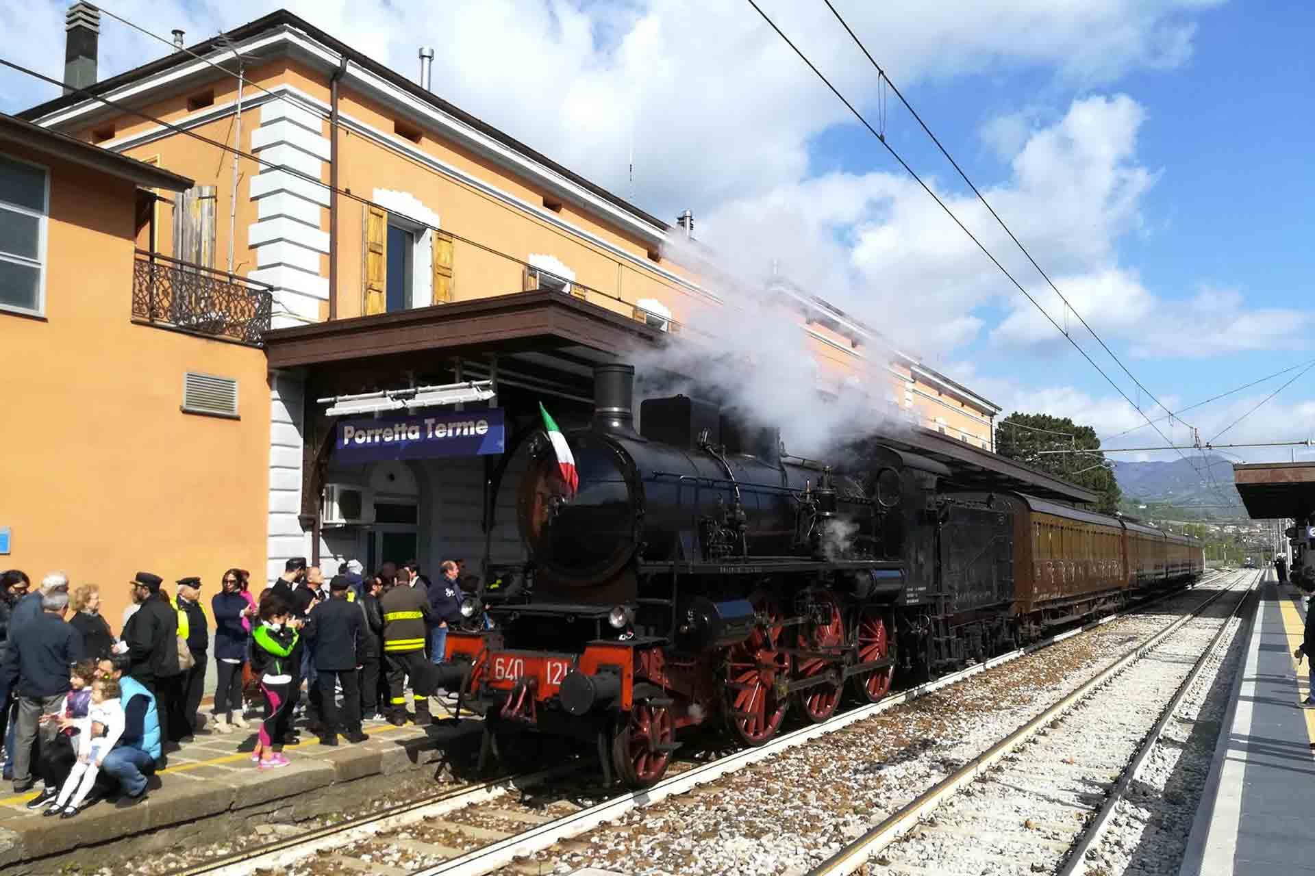 treno storico viaggio slow