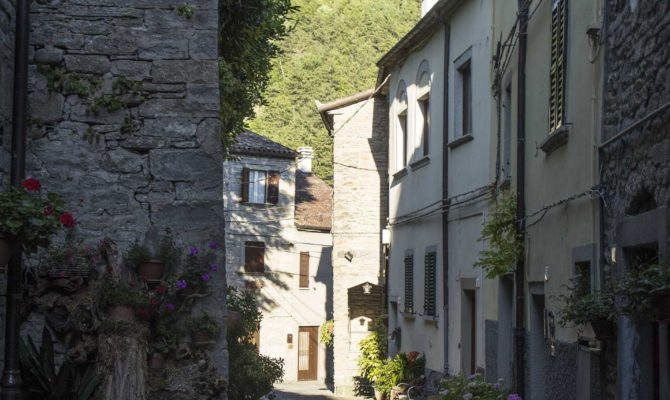 Portico Di Romagnail Borgo