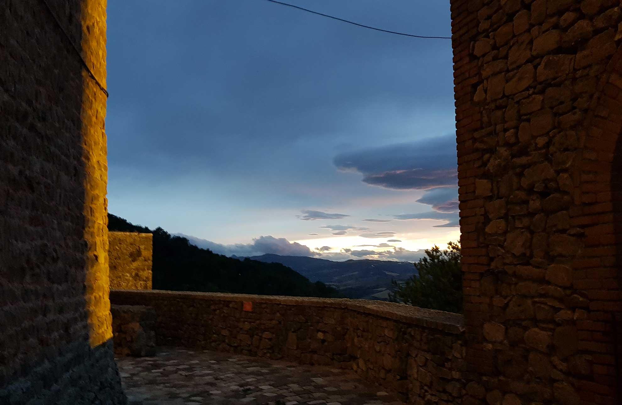 Montefiore: entroterra riviera romagnola