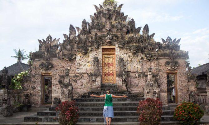 Tempio Induista A Bali