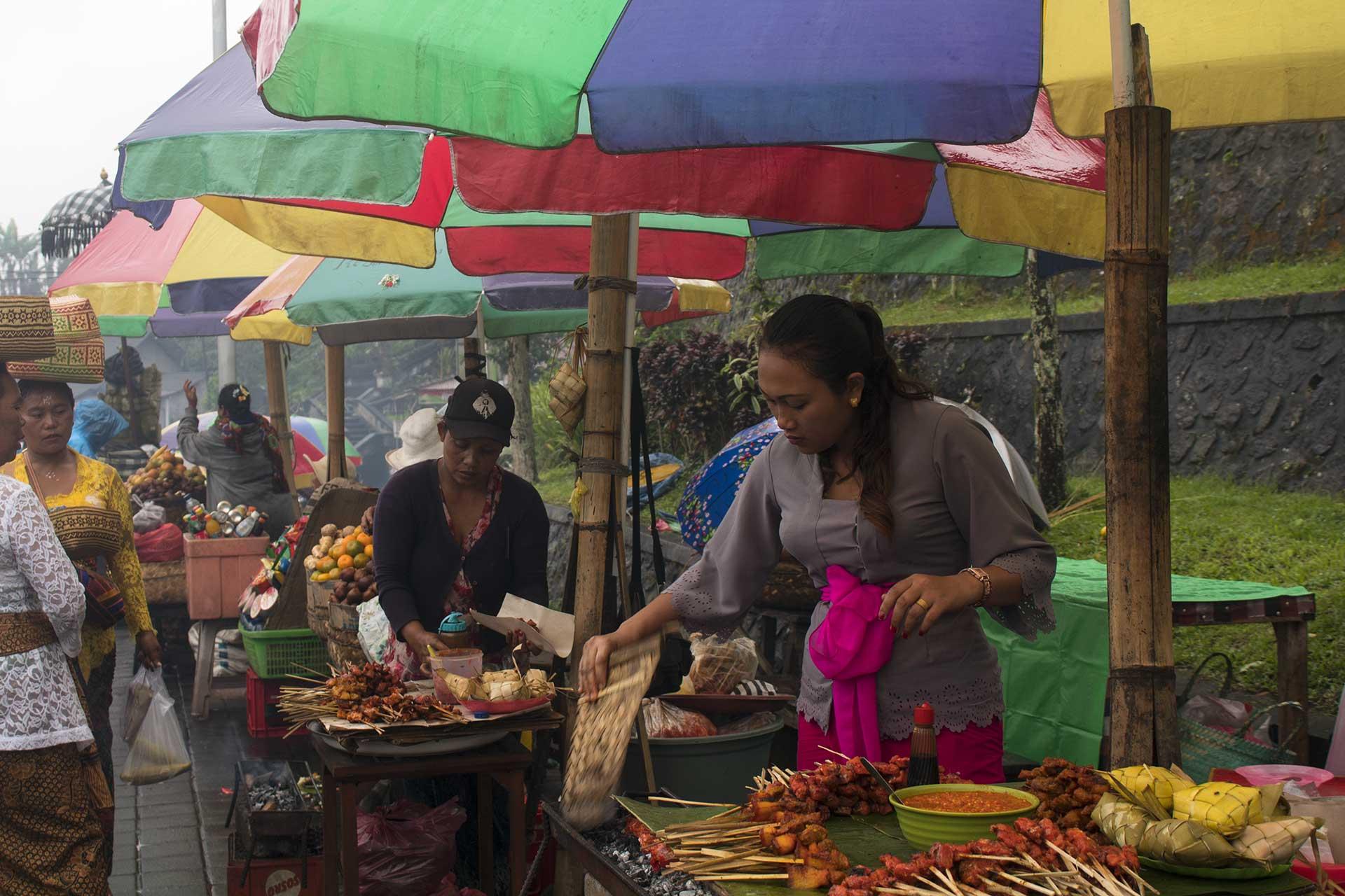 bali, food market