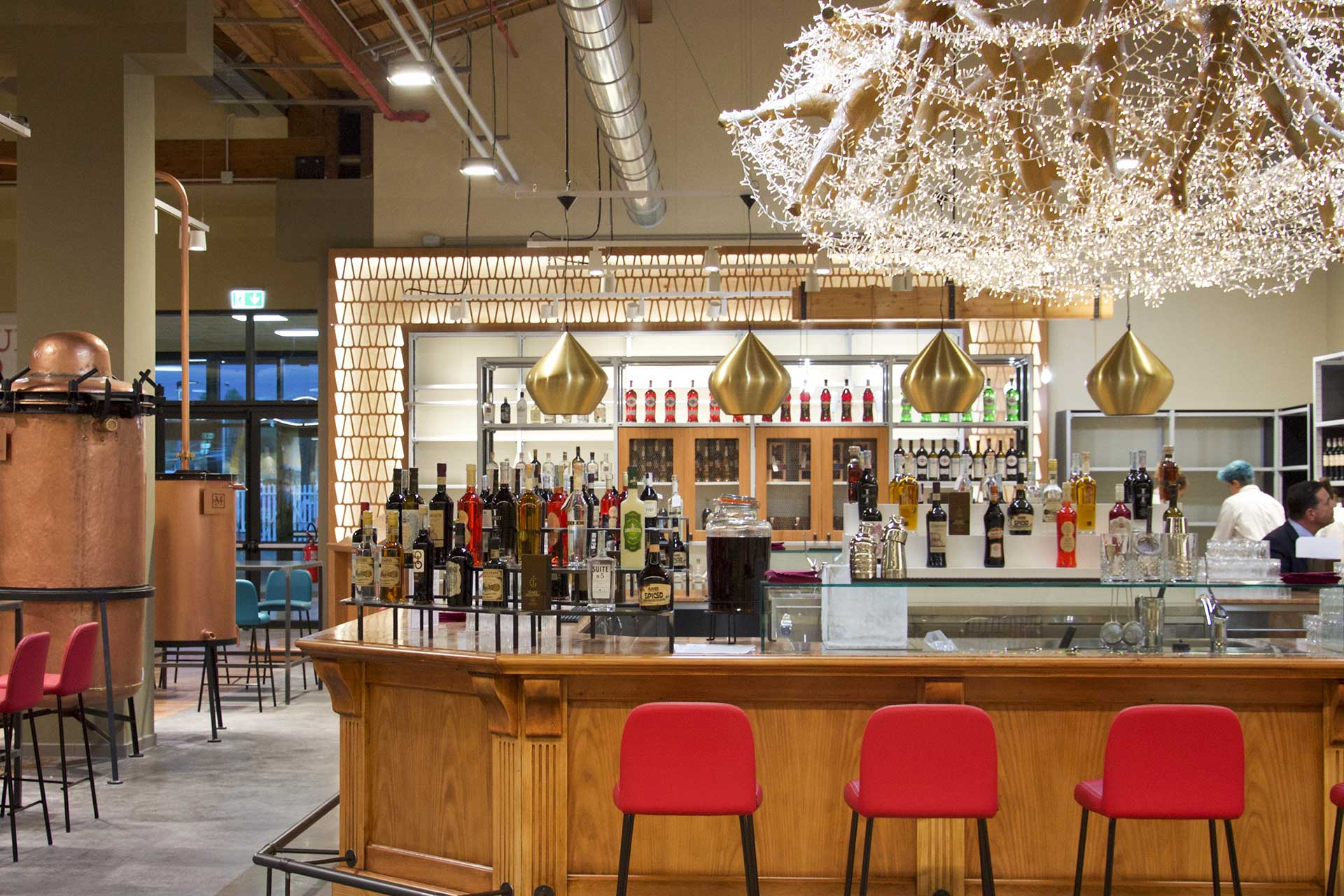 cocktail bar, fico, bologna