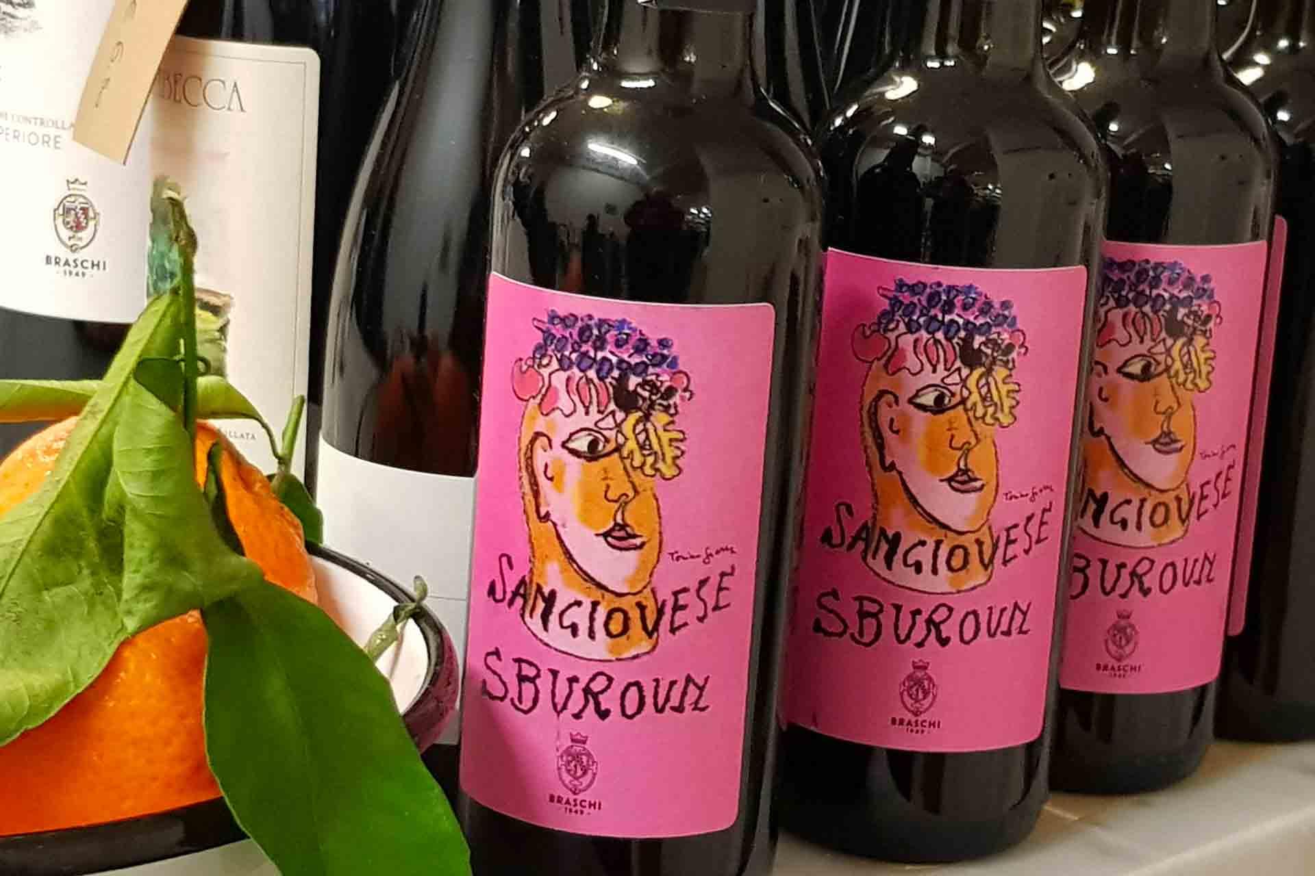 vino sangiovese, emilia romagna