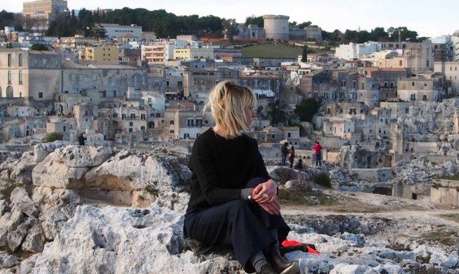 Matera Panorama Sui Sassi
