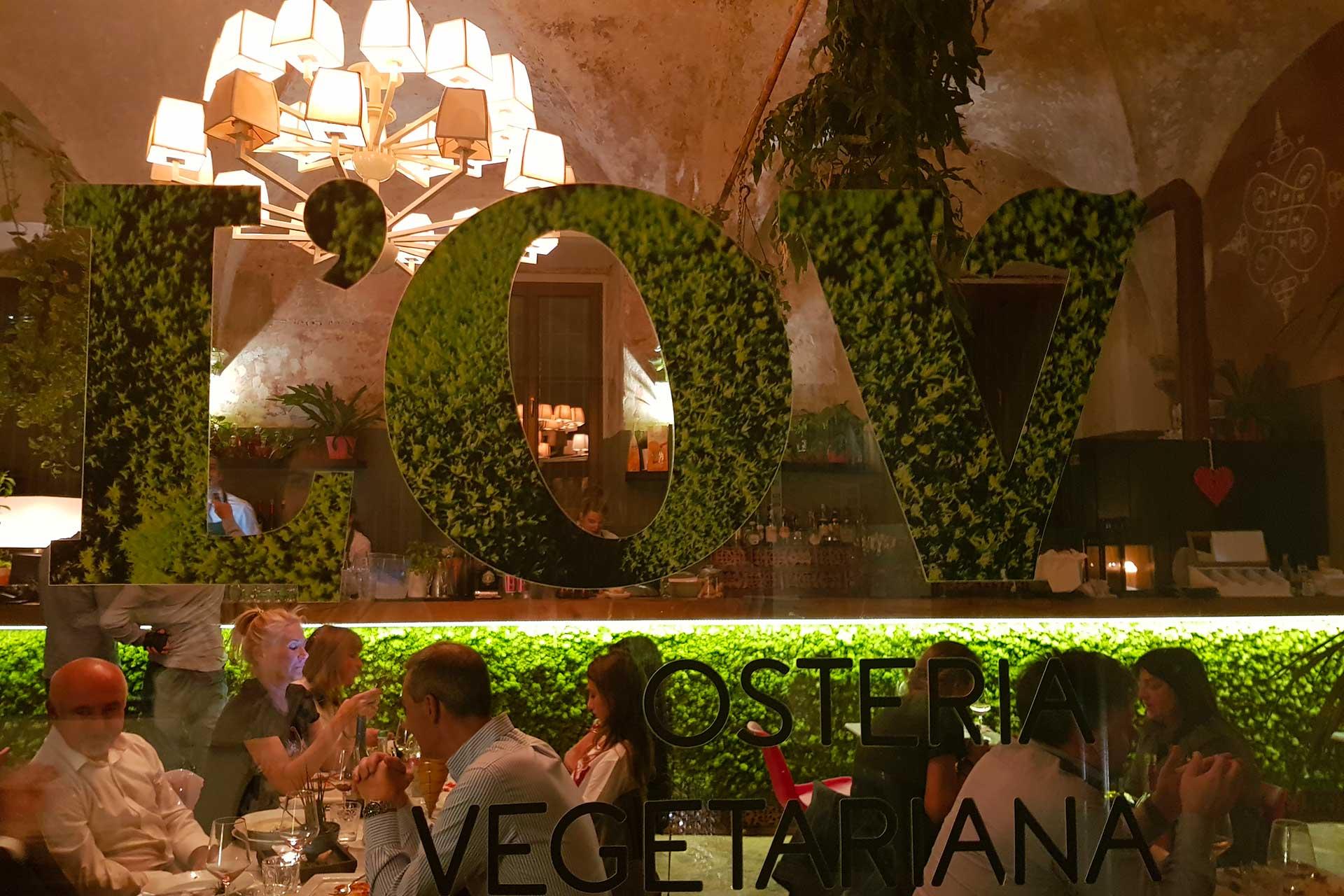 osteria vegetariana