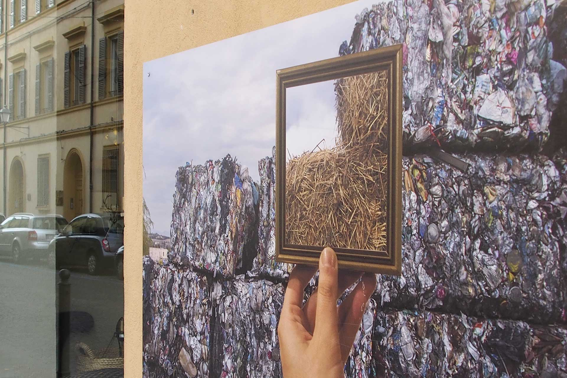 dipinto sul muro a forlì, via regoli