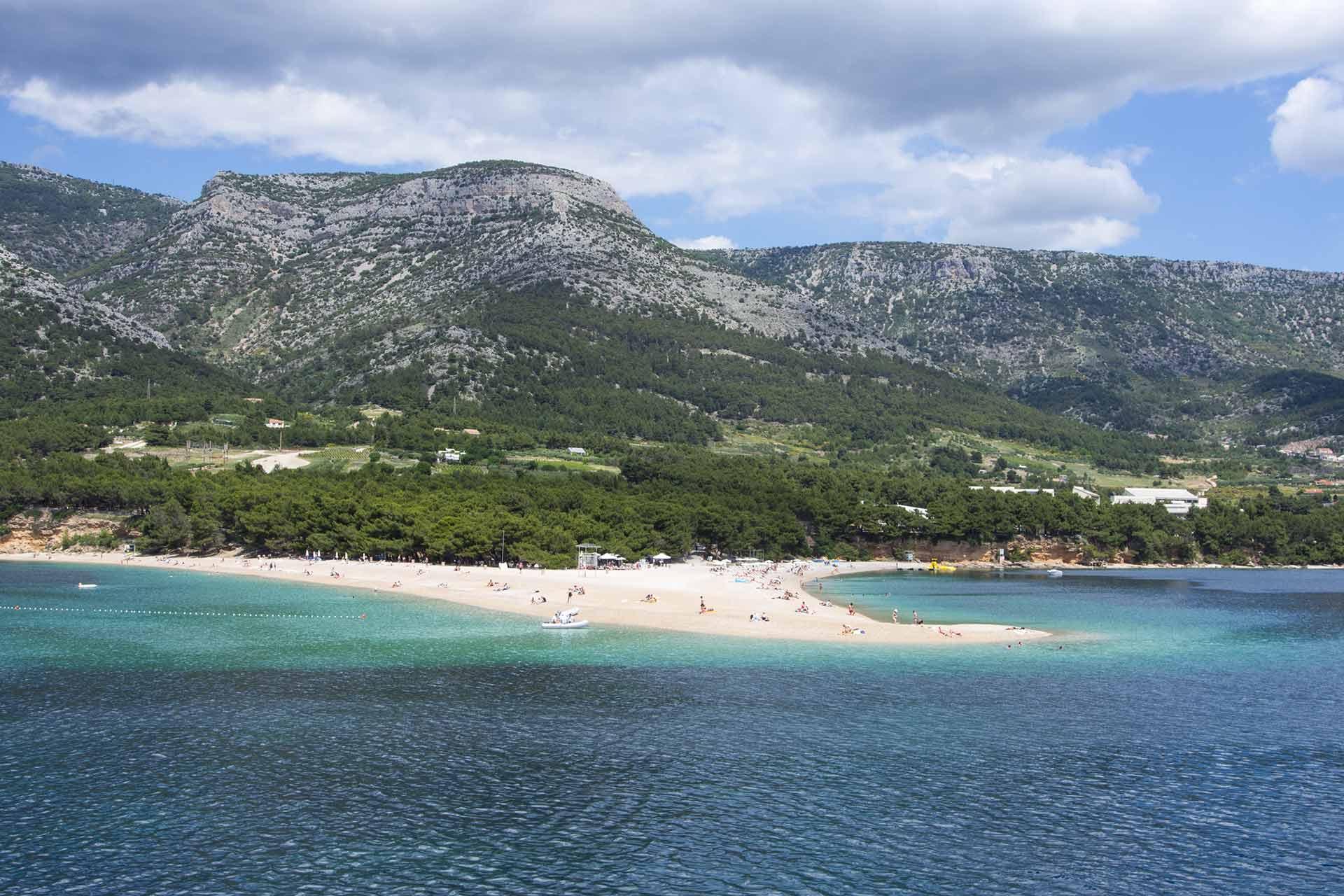 bol, spiaggia croazia