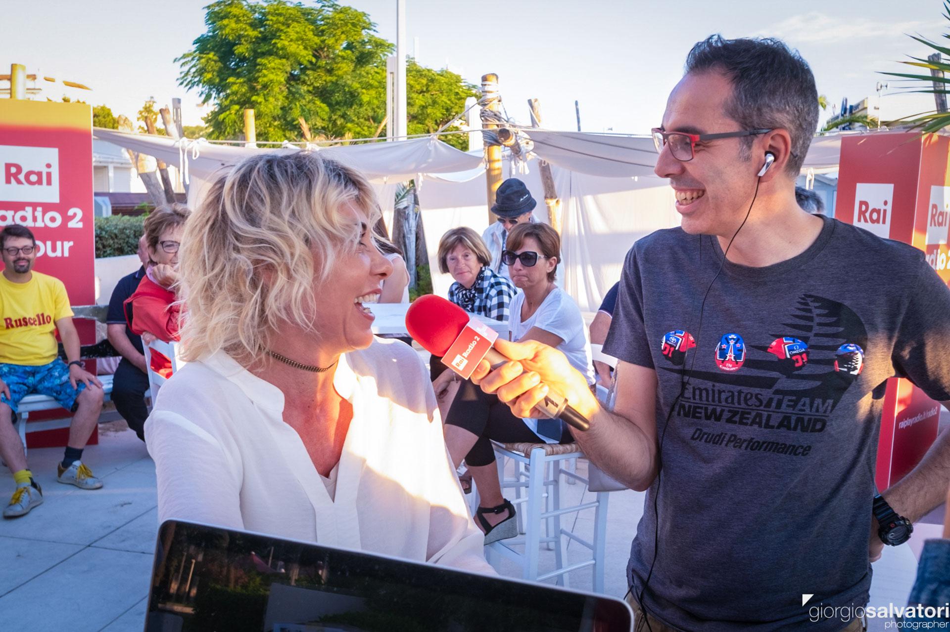 Intervista a Sabrina Campanella di mytrolleyblog su Caterpillar in diretta da Riccione - Radio 2