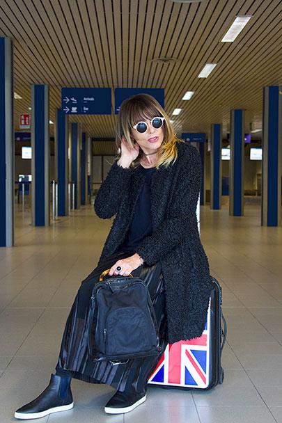viaggiare: in partenza all'aeroporto