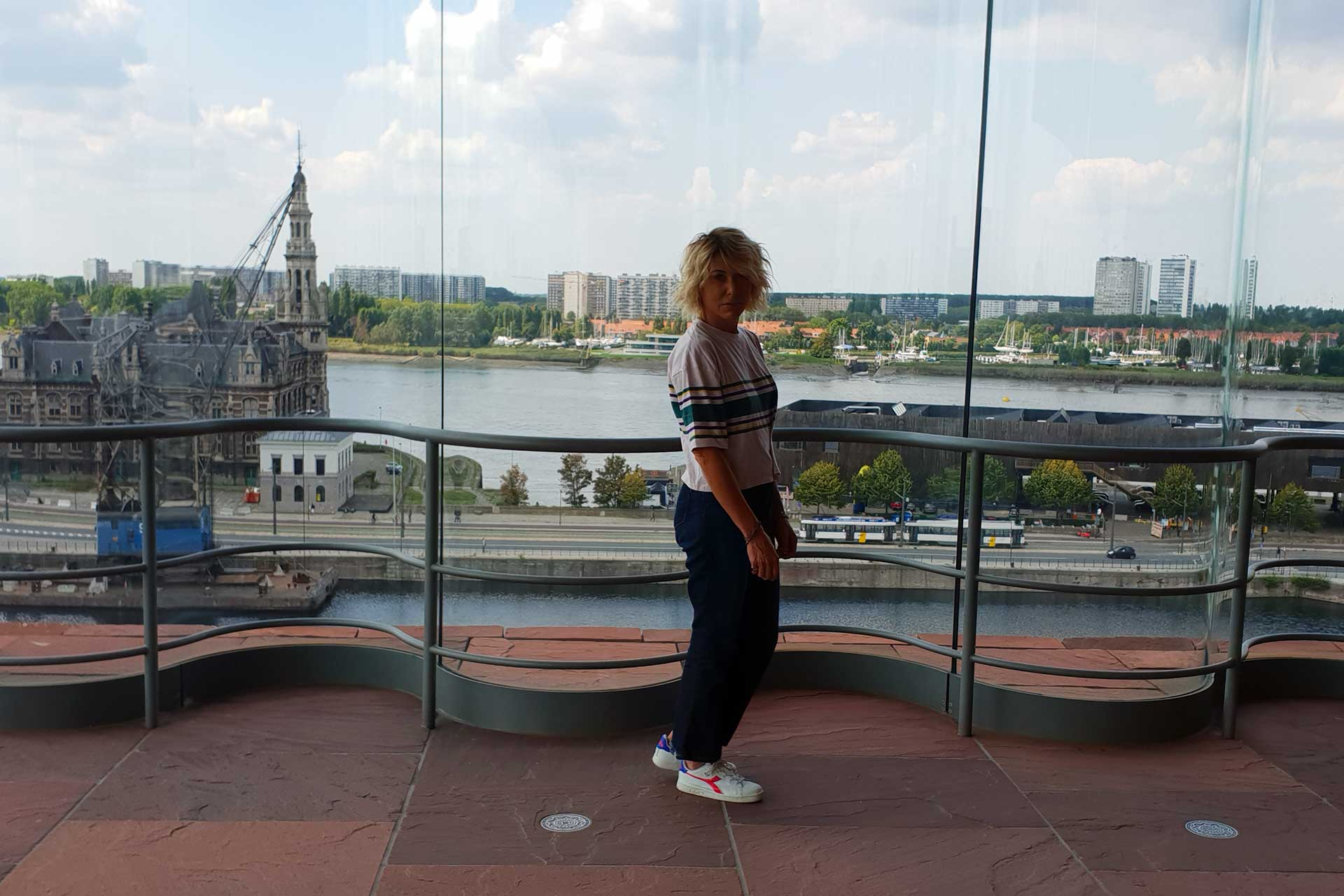 anversa: vista sulla città