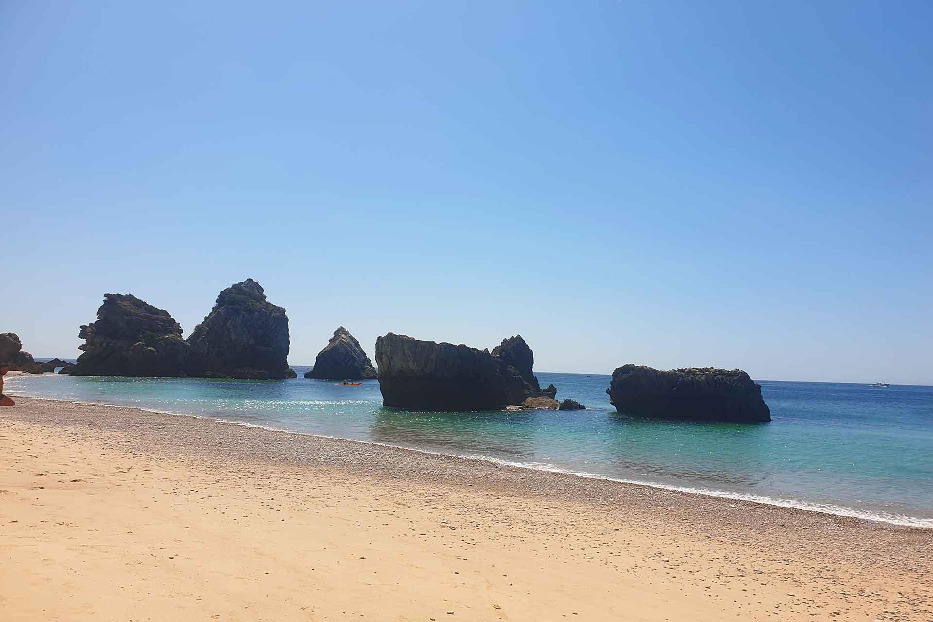 spiaggia in portogallo